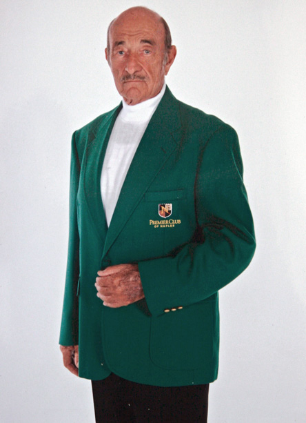 wholesale augusta green blazer with embroidery